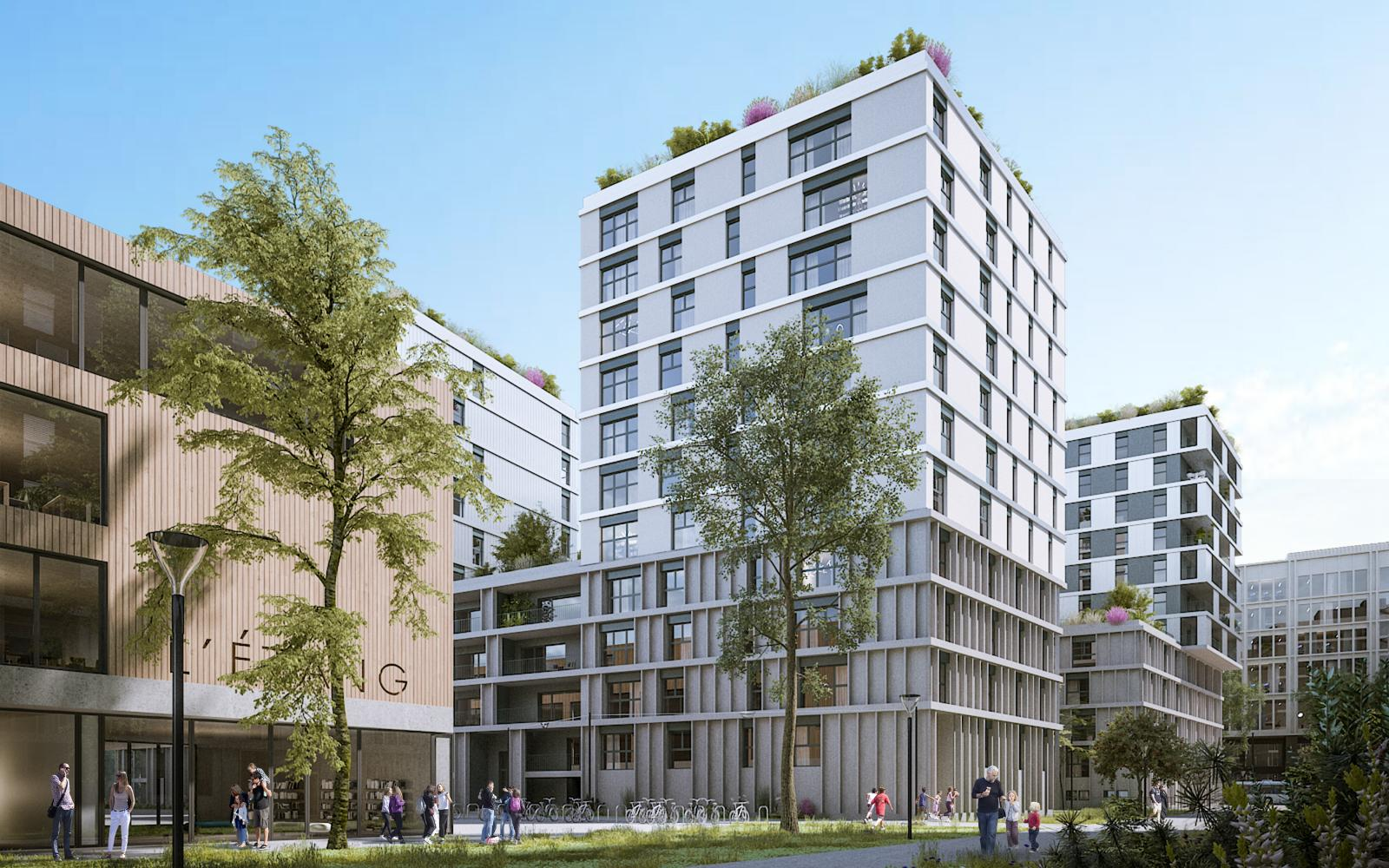 QUARTIER DE L'ETANG | EVOLUTION +